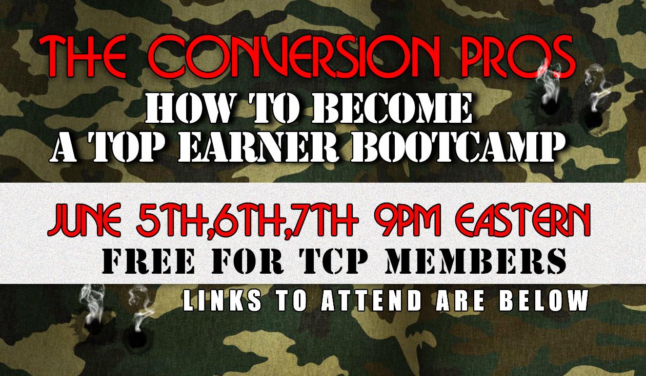 TCP Free Bootcamp Training